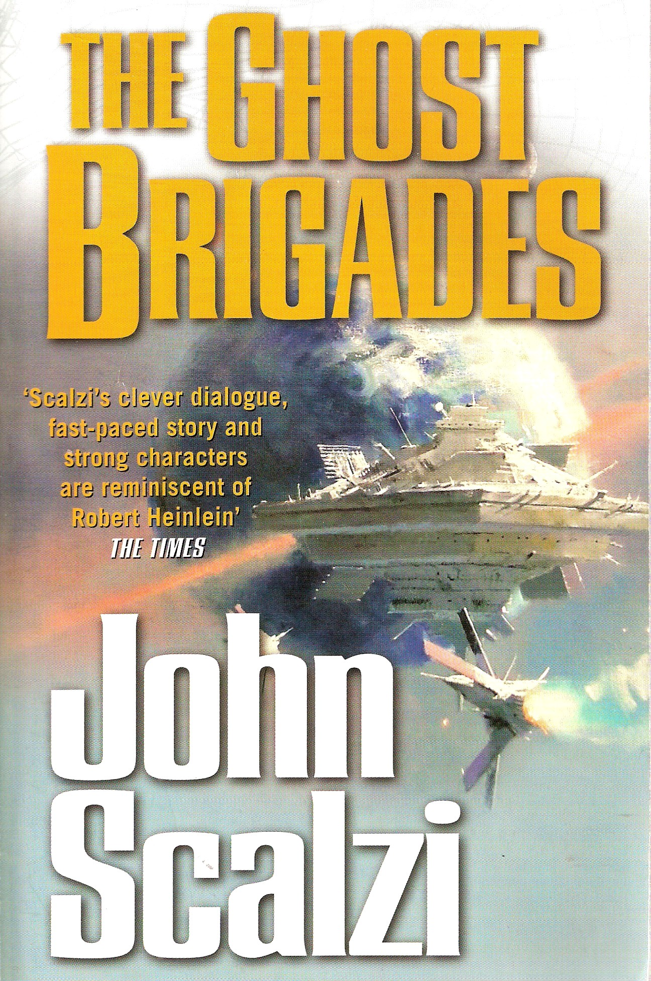 The Ghost Brigades by John Scalzi Book Review - YouTube