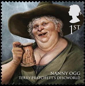 nanny ogg stamp