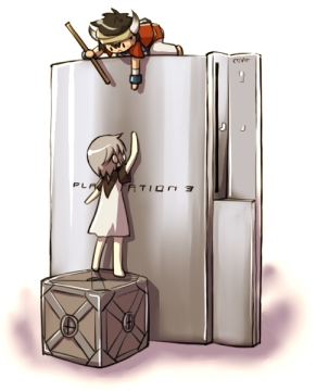 ico and yorda climbing PS3