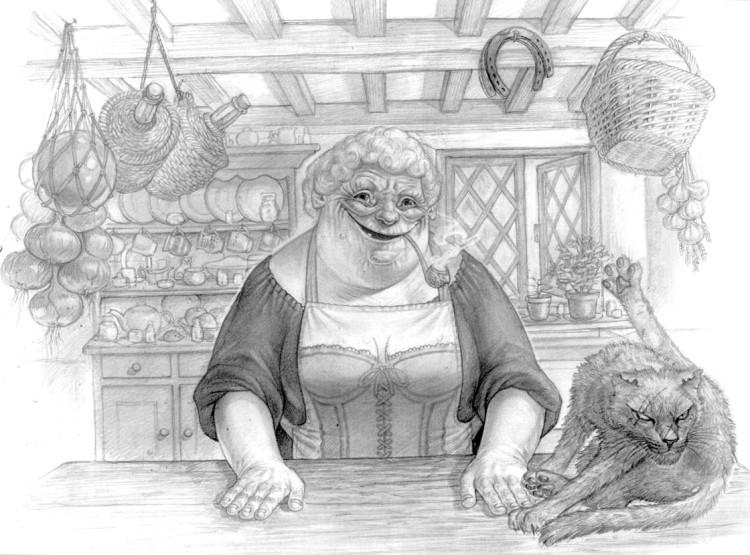 nanny oggs cookbook nanny and greebo