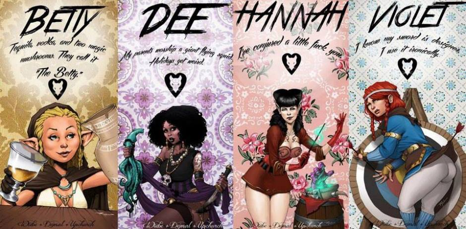rat queens introduction