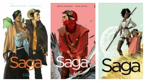 saga one to three