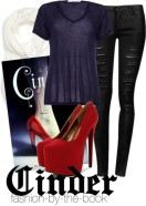 cinder fashion-by-the-book