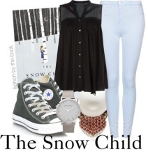 snow child fashion-by-the-book