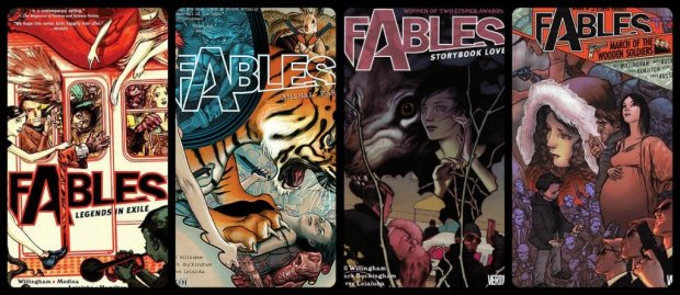 fables covers