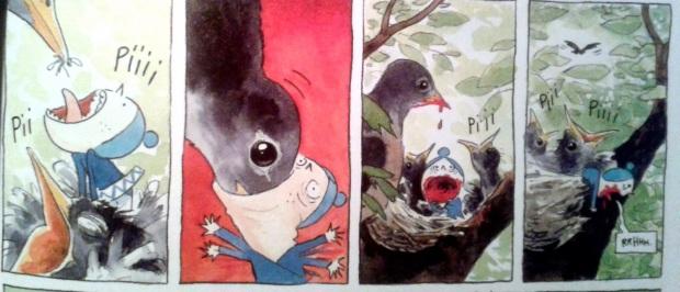 jolies tenebres birds