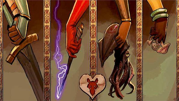 rat queens and their weapons