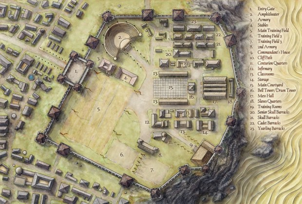 Click image for a cool article on the creation of this map of Blackcliff Academy