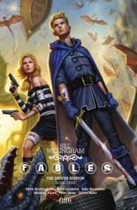 fables deluxe edition 09 - A Mini-Update – Where I Break All My Plans and Read What I Want