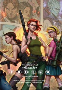 fables deluxe edition 10 - A Mini-Update – Where I Break All My Plans and Read What I Want