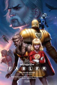 fables deluxe edition 12 - A Mini-Update – Where I Break All My Plans and Read What I Want